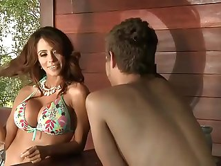 the young boy and the latina mother  MotherSexHD.com