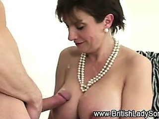Mature british whore fucked